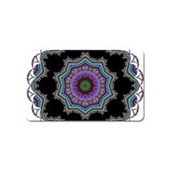 Fractal Lace Magnet (name Card) by Simbadda