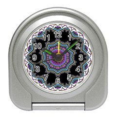 Fractal Lace Travel Alarm Clocks by Simbadda