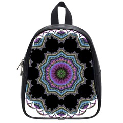Fractal Lace School Bags (small)  by Simbadda