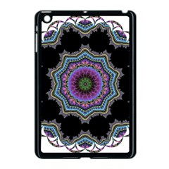 Fractal Lace Apple Ipad Mini Case (black) by Simbadda