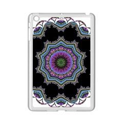 Fractal Lace Ipad Mini 2 Enamel Coated Cases by Simbadda