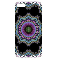 Fractal Lace Apple Iphone 5 Hardshell Case With Stand by Simbadda