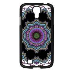 Fractal Lace Samsung Galaxy S4 I9500/ I9505 Case (black) by Simbadda