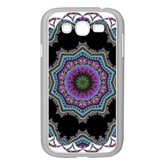 Fractal Lace Samsung Galaxy Grand Duos I9082 Case (white) by Simbadda