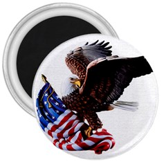 Independence Day United States 3  Magnets by Simbadda