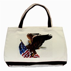 Independence Day United States Basic Tote Bag (two Sides) by Simbadda