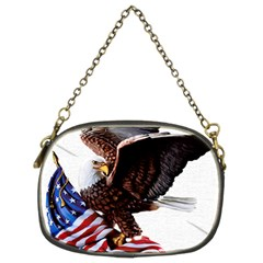 Independence Day United States Chain Purses (two Sides)  by Simbadda