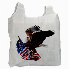 Independence Day United States Recycle Bag (one Side) by Simbadda