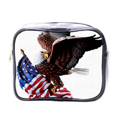 Independence Day United States Mini Toiletries Bags by Simbadda