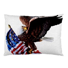 Independence Day United States Pillow Case (two Sides) by Simbadda