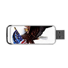Independence Day United States Portable Usb Flash (two Sides) by Simbadda