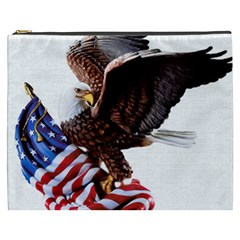 Independence Day United States Cosmetic Bag (xxxl)  by Simbadda