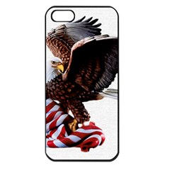 Independence Day United States Apple Iphone 5 Seamless Case (black) by Simbadda