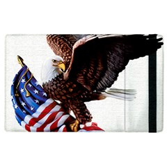 Independence Day United States Apple Ipad 3/4 Flip Case by Simbadda