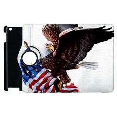Independence Day United States Apple Ipad 3/4 Flip 360 Case by Simbadda
