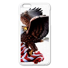 Independence Day United States Apple Iphone 6 Plus/6s Plus Enamel White Case by Simbadda