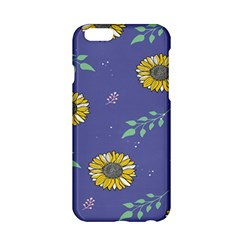 Floral Flower Rose Sunflower Star Leaf Pink Green Blue Yelllow Apple Iphone 6/6s Hardshell Case by Alisyart