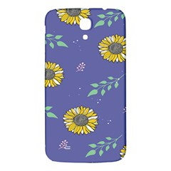 Floral Flower Rose Sunflower Star Leaf Pink Green Blue Yelllow Samsung Galaxy Mega I9200 Hardshell Back Case