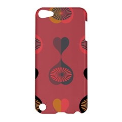 Heart Love Fan Circle Pink Blue Black Orange Apple Ipod Touch 5 Hardshell Case by Alisyart