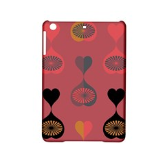 Heart Love Fan Circle Pink Blue Black Orange Ipad Mini 2 Hardshell Cases by Alisyart