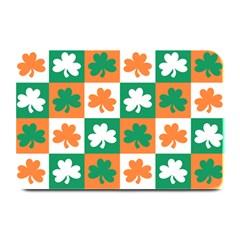 Ireland Leaf Vegetables Green Orange White Plate Mats by Alisyart