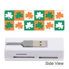 Ireland Leaf Vegetables Green Orange White Memory Card Reader (stick)  by Alisyart