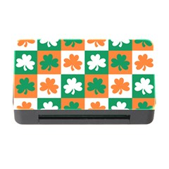 Ireland Leaf Vegetables Green Orange White Memory Card Reader With Cf by Alisyart
