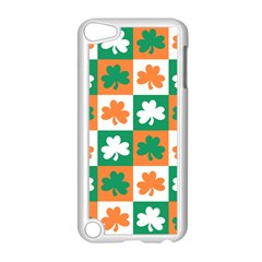 Ireland Leaf Vegetables Green Orange White Apple Ipod Touch 5 Case (white) by Alisyart