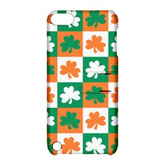 Ireland Leaf Vegetables Green Orange White Apple Ipod Touch 5 Hardshell Case With Stand by Alisyart