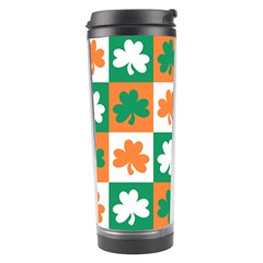 Ireland Leaf Vegetables Green Orange White Travel Tumbler by Alisyart
