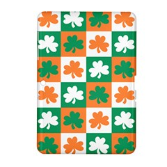 Ireland Leaf Vegetables Green Orange White Samsung Galaxy Tab 2 (10 1 ) P5100 Hardshell Case  by Alisyart