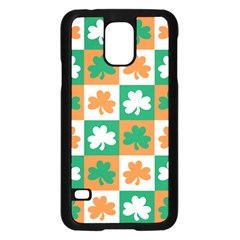 Ireland Leaf Vegetables Green Orange White Samsung Galaxy S5 Case (black) by Alisyart