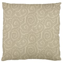 Leaf Grey Frame Large Cushion Case (one Side) by Alisyart