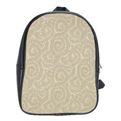 Leaf Grey Frame School Bags (xl)  by Alisyart