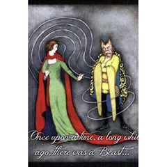 Beauty And The Beast 5 5  X 8 5  Notebooks by athenastemple