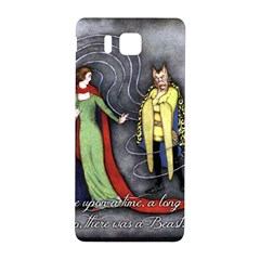 Beauty And The Beast Samsung Galaxy Alpha Hardshell Back Case by athenastemple