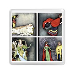Fairy Tales Memory Card Reader (square)  by athenastemple