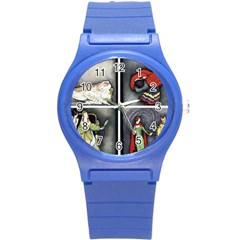 Fairy Tales Round Plastic Sport Watch (s) by athenastemple