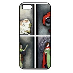 Fairy Tales Apple Iphone 5 Seamless Case (black) by athenastemple
