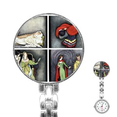 Fairy Tales Stainless Steel Nurses Watch by athenastemple