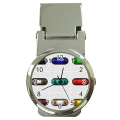 9 Power Button Money Clip Watches by Simbadda