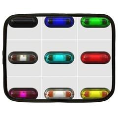 9 Power Button Netbook Case (xxl)  by Simbadda
