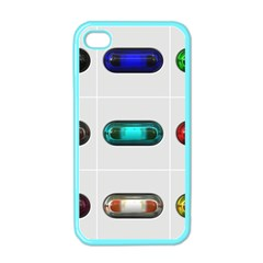 9 Power Button Apple Iphone 4 Case (color) by Simbadda