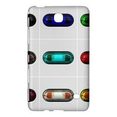 9 Power Button Samsung Galaxy Tab 4 (7 ) Hardshell Case  by Simbadda
