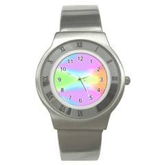 Abstract Background Colorful Stainless Steel Watch by Simbadda