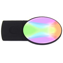 Abstract Background Colorful Usb Flash Drive Oval (4 Gb) by Simbadda