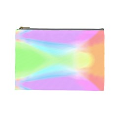Abstract Background Colorful Cosmetic Bag (large)  by Simbadda