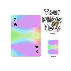 Abstract Background Colorful Playing Cards 54 (mini)  by Simbadda