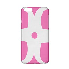 Love Heart Valentine Pink White Sweet Apple Iphone 6/6s Hardshell Case by Alisyart