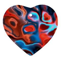 Abstract Fractal Ornament (heart) by Simbadda